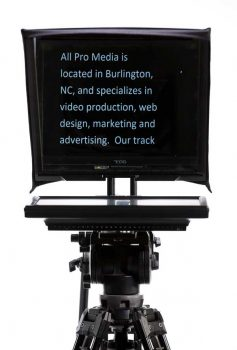 Video Teleprompter (Front View)