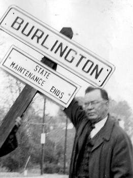 Earl Horner, Burlington City Mayor (1918-1945)