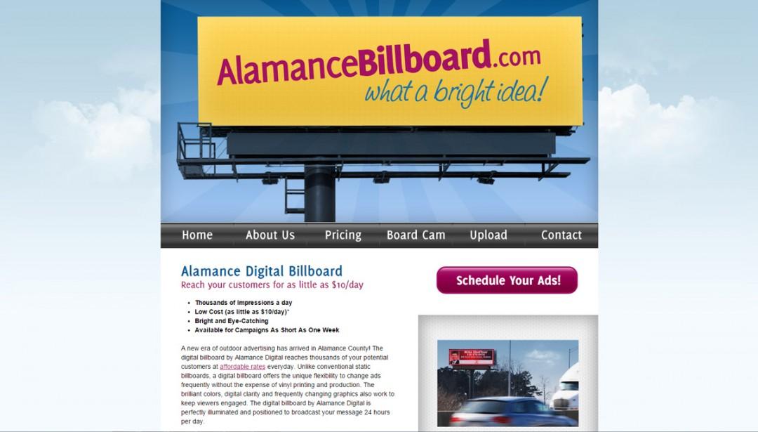 AlamanceBillboard.com