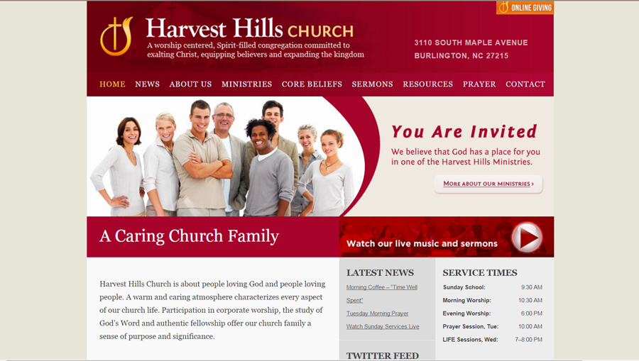 HarvestHills.com