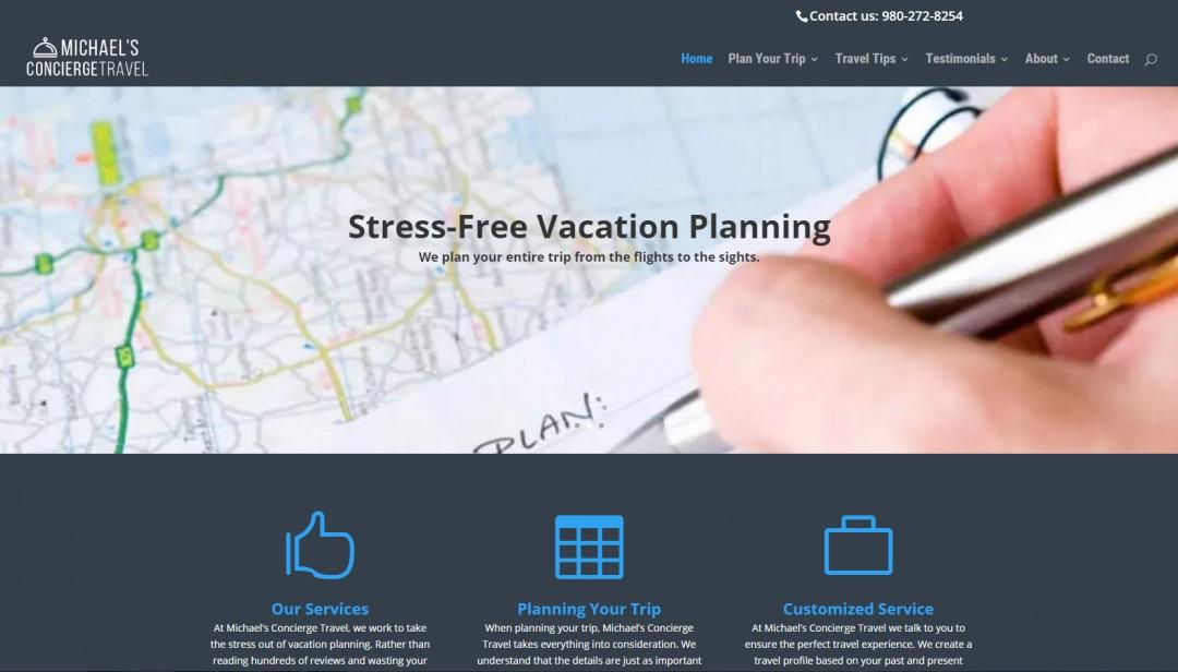 Michael's Concierge Travel Website