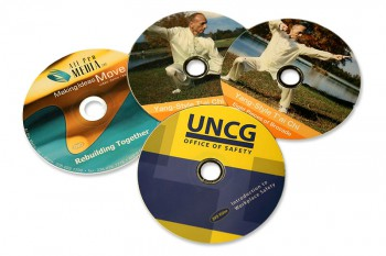 Printed DVD exapmles