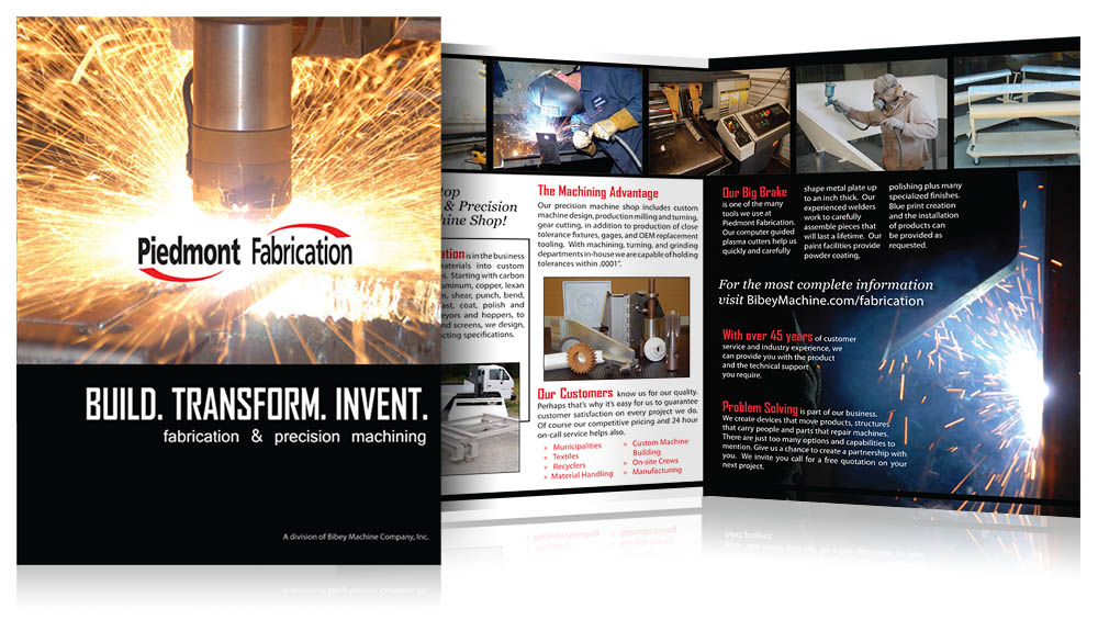 Piedmont Fabrication Brochure