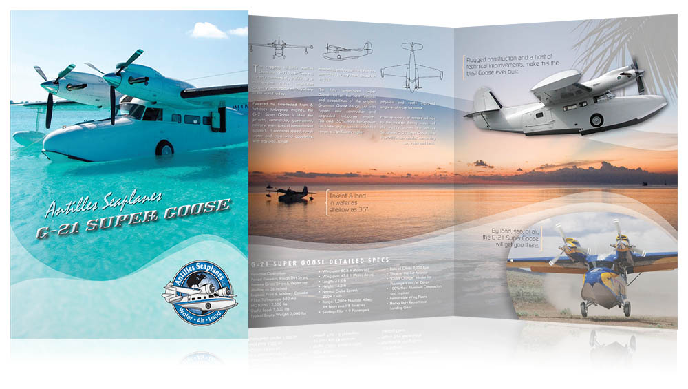 Antilles Seaplanes Brochure