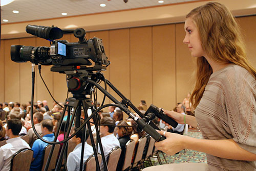 Director Rents Video Cameras for Music Festival