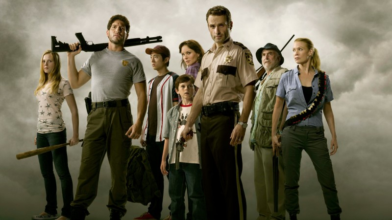 AMC's The Walking Dead promo picture