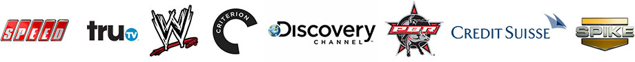 video production client logos